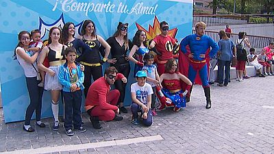 Más de 1.000 voluntarios participan en varias actividades contra la exclusión infantil