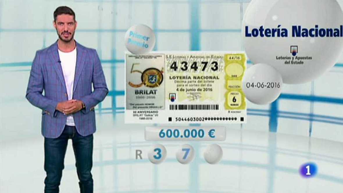 Lotería Nacional - 04/06/16 - ver ahora