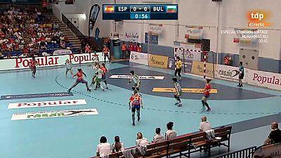 Balonmano - Clasificaci�n Campeonato de Europa Femenino. 6� Jornada: Espa�a - Bulgaria - ver ahora