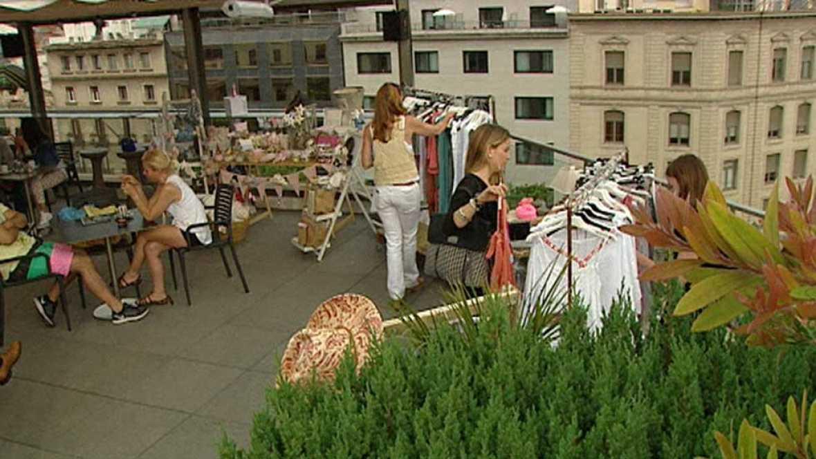 Las terrazas de los hoteles en Barcelona se llenan de actividades