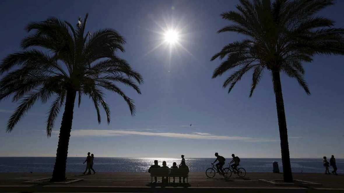Subida de las temperaturas en toda España