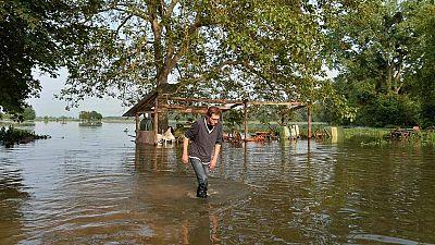 Francia se apura por recuperarse de las inundaciones a pocos días del inicio de la Eurocopa