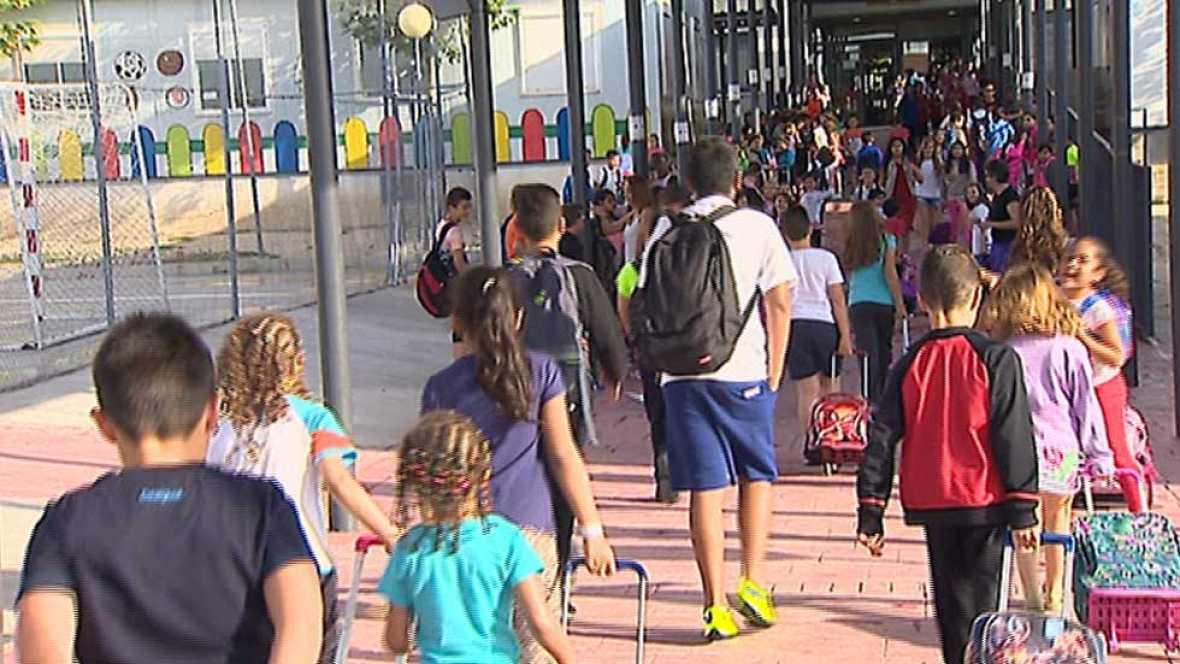 """El colegio de """"el Quiñón"""", en Seseña, reanuda las clases"""