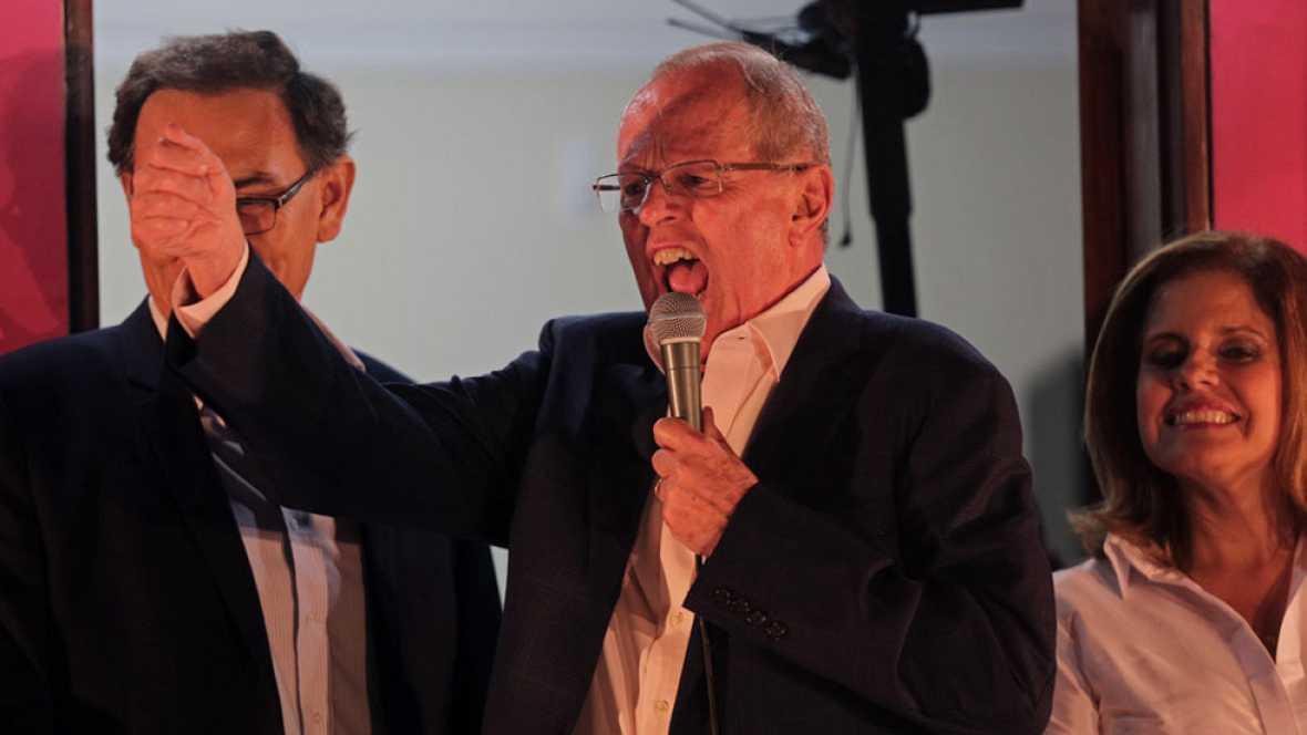 Kuczynski saca ligera ventaja a Fujimori en el escrutinio de la segunda vuelta de las presidenciales de Perú