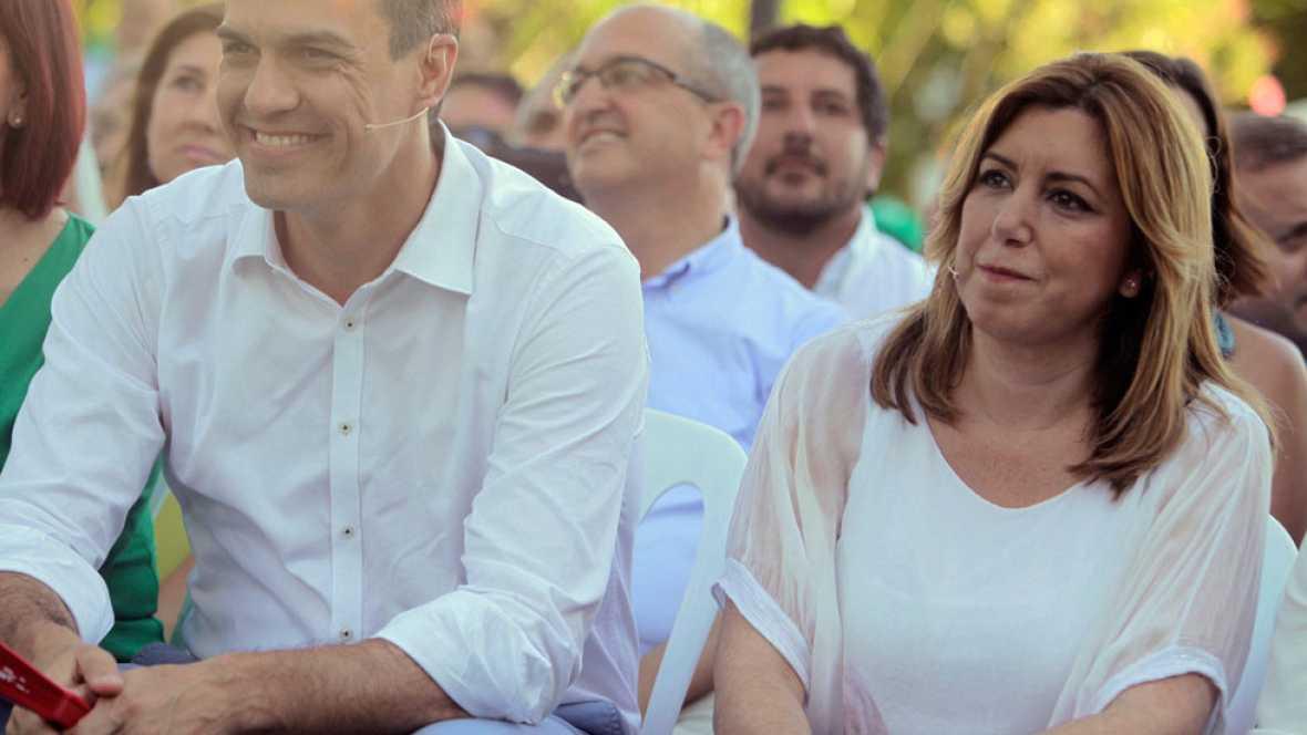 Susana Díaz asegura que todavía tienen tiempo para dar la vuelta a las encuestas