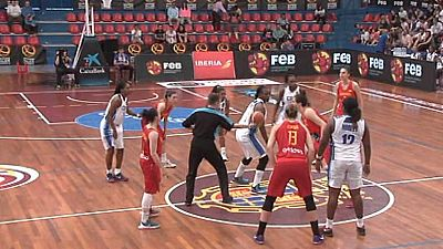 Baloncesto - Ruta Ñ femenina: España - Cuba
