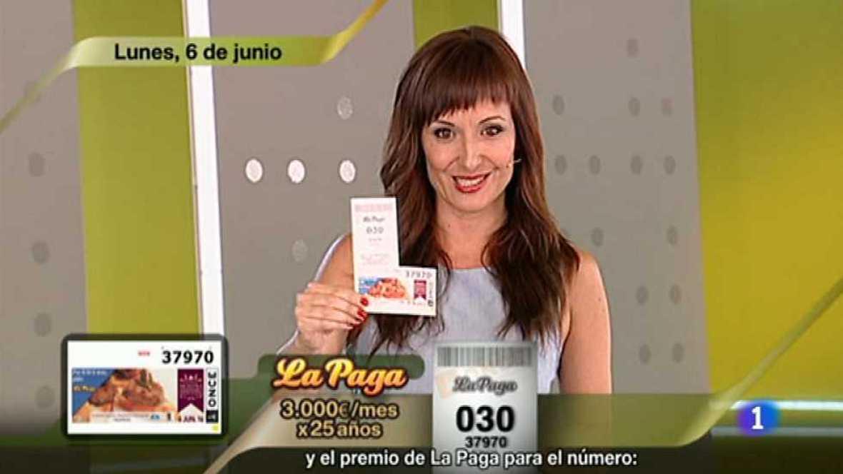 Sorteo ONCE - 06/06/16 - ver ahora