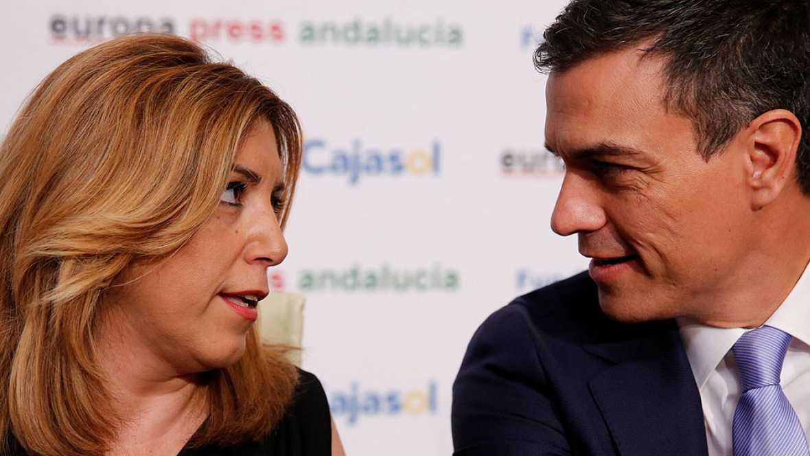 """Susana Díaz, sobre un Podemos socialdemócrata: """"Es la mayor operación de camuflaje de la historia reciente"""""""