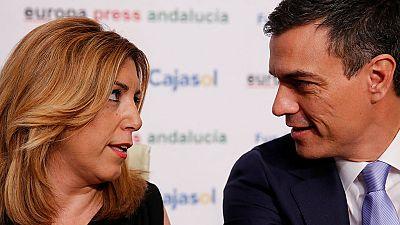 """Susana D�az, sobre un Podemos socialdem�crata: """"Es la mayor operaci�n de camuflaje de la historia reciente"""""""