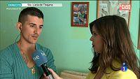 Entrevista a su padre en 'La ma�ana'