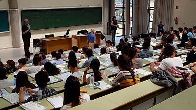 Más de 66.000 alumnos se examinan hoy de la PAU, casi la mitad en la Comunidad de Madrid