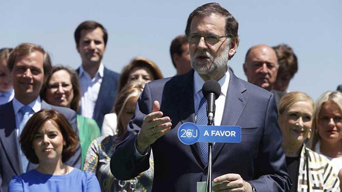 Rajoy: 'estamos a mitad de la tarea, pero vamos en la dirección correcta'