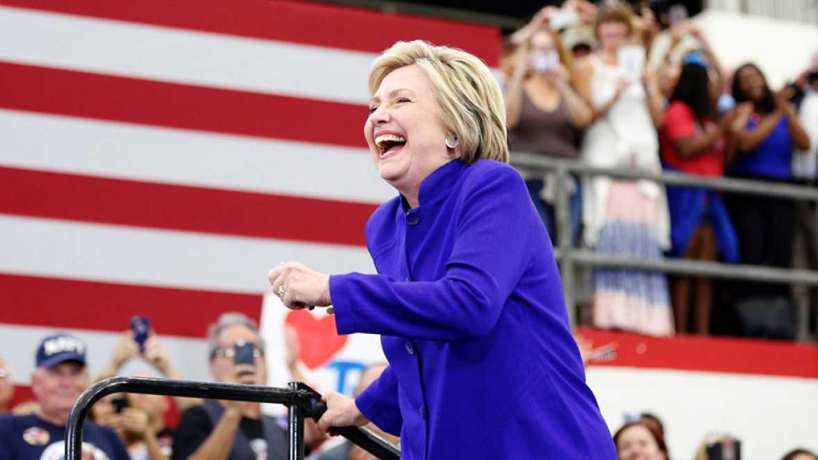 Hillary Clinton ya tiene los delegados necesarios para ser la candidata demócrata