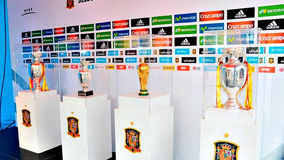 La selección española de fútbol disputará este martes en el Coliseum Alfonso Pérez de Getafe (Madrid) un amistoso ante Georgia, el último antes de partir hacia Francia para defender su trono continental y que podría servir para atisbar las ideas de V