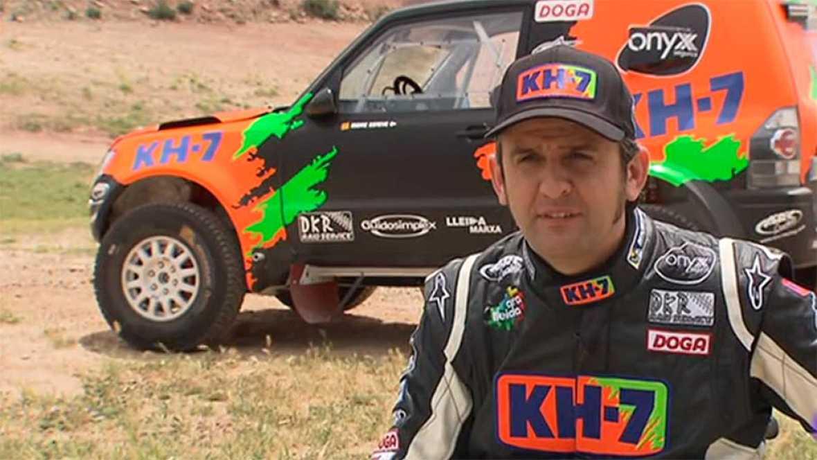 Isidre Esteve vuelve al Dakar