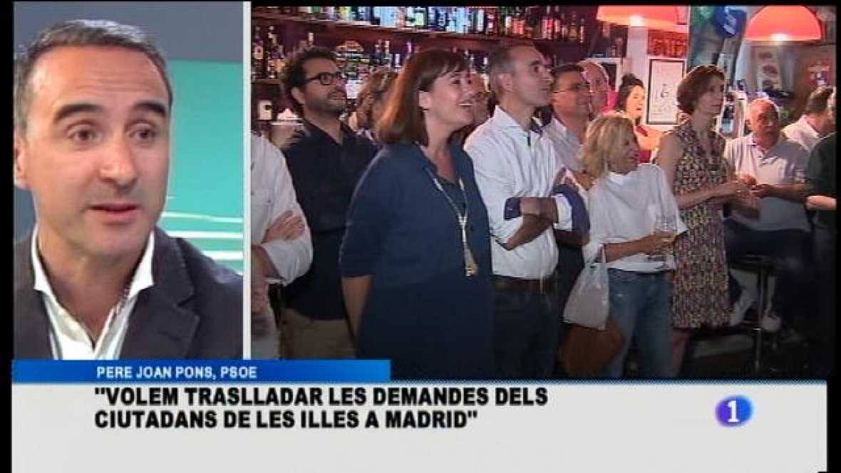 Pere Joan Pons, PSOE