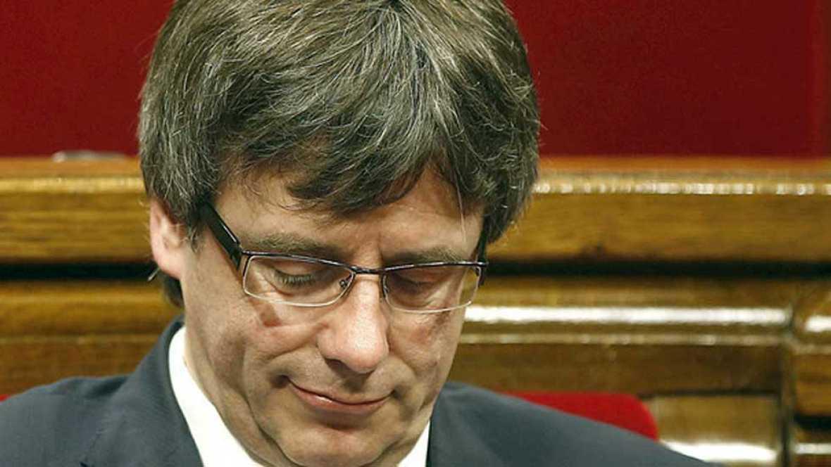 Puigdemont da por roto el acuerdo con la CUP tras su veto a los presupuestos