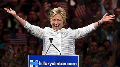 Hillary Clinton será la primera mujer que aspirará a ser presidenta de Estados Unidos
