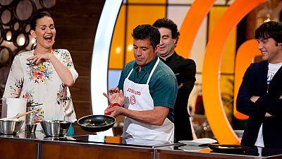 MasterChef 4 - El toque de Jos� Luis para la tortilla francesa