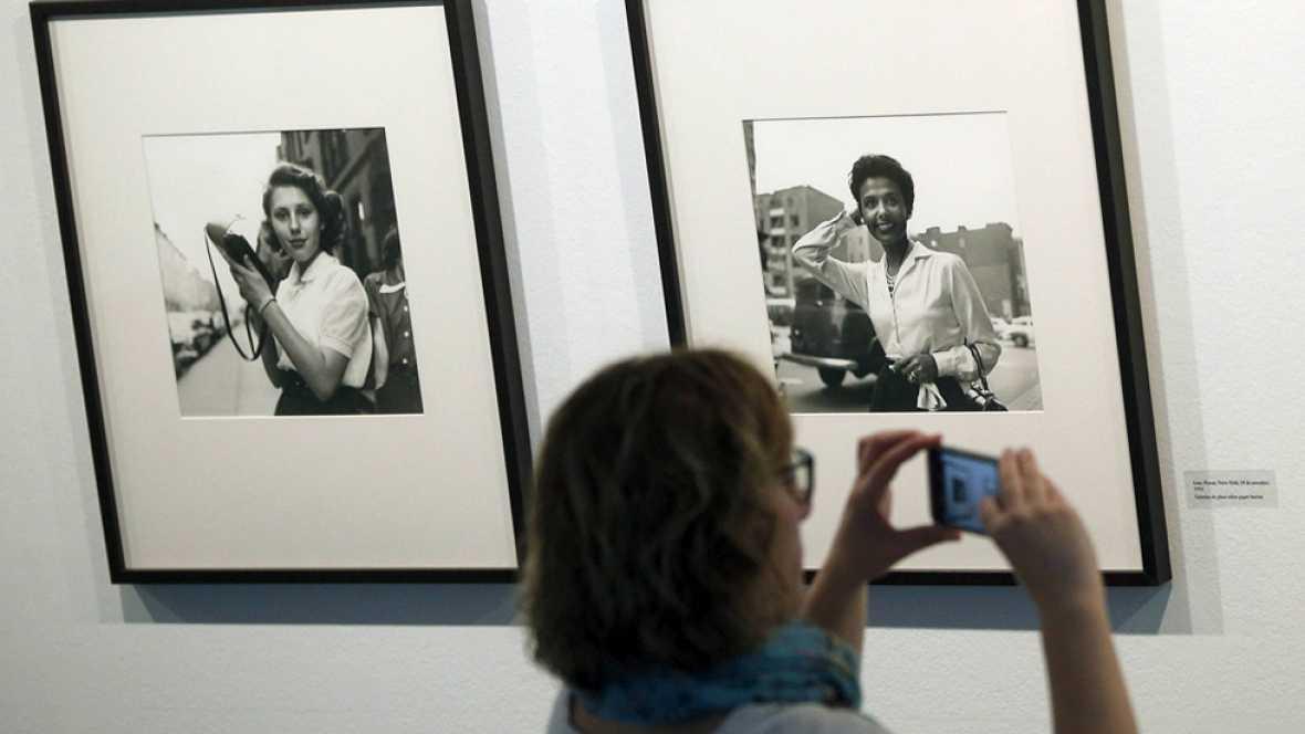 En Barcelona se expone una selección de fotos de la estadounidense Vivan Maier