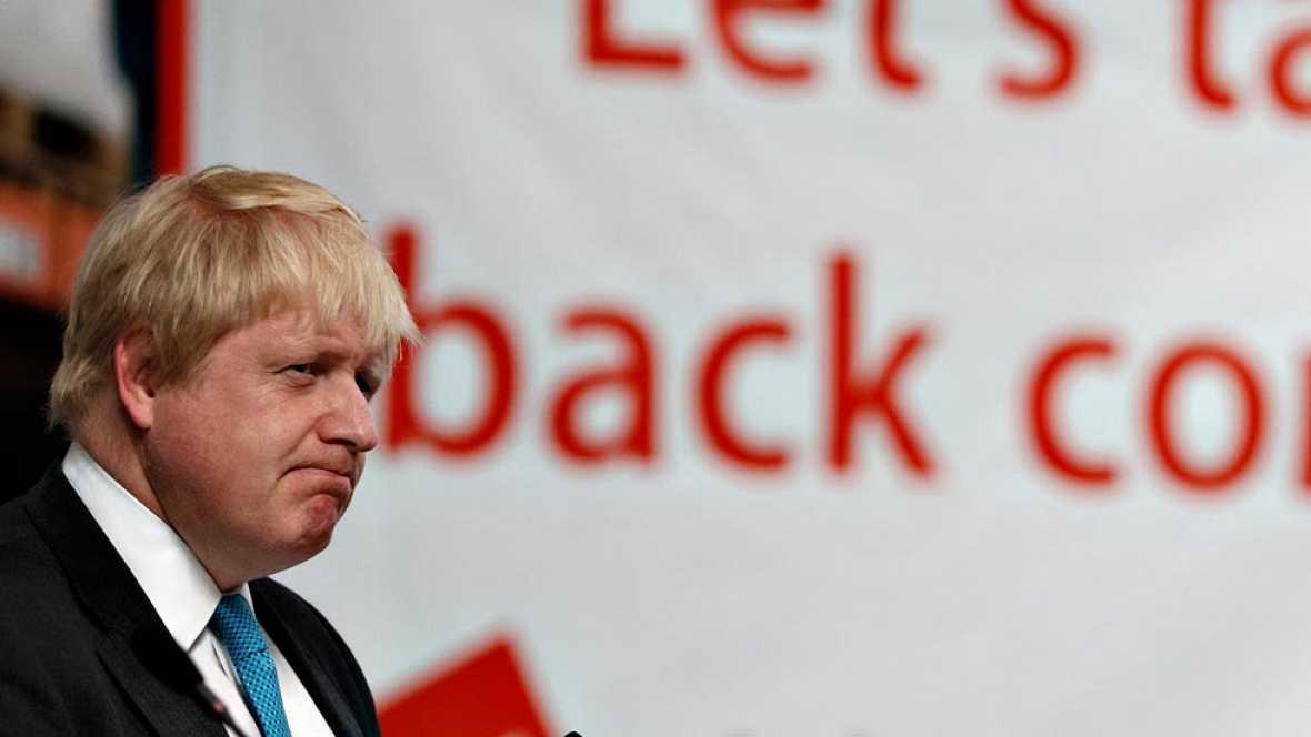 Sturgeon y Johnson debatirán sobre la permanencia del Reino Unido en la UE horas antes de cerrarse el registro de votantes