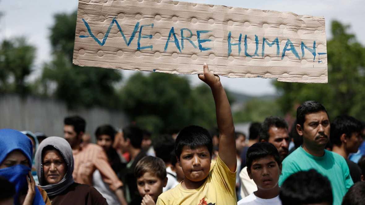 Más de 400.000 niños refugiados intentan alcanzar Europa huyendo de la violencia