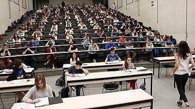 Alumnos del País Vasco piden que se anule un examen de Matemáticas de Selectividad por su dificultad