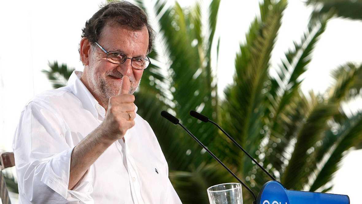 """Rajoy insiste en que votar al PP es """"lo más útil para evitar el extremismo"""""""