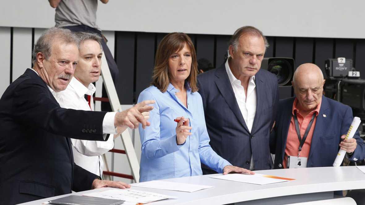 """Pedro Sánchez cerrará el debate a cuatro con el """"minuto de oro"""", que abrirá Pablo Iglesias"""
