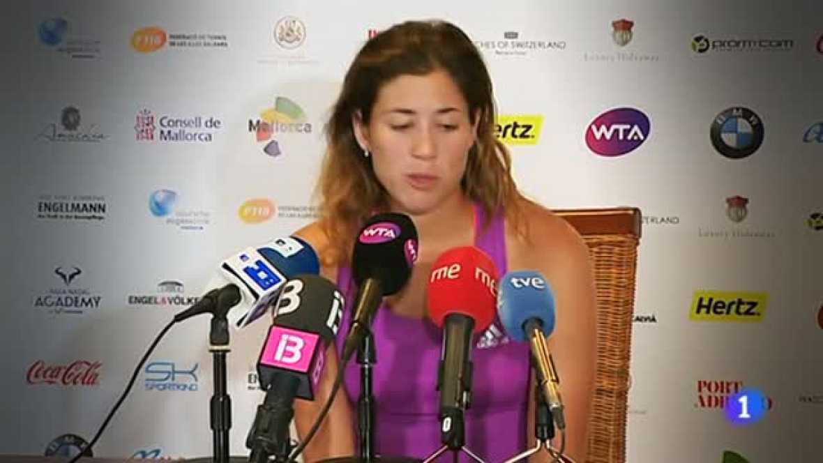 Muguruza se prepara para Wimbledon y rechaza la presión de tener que ganar todo a partir de ahora