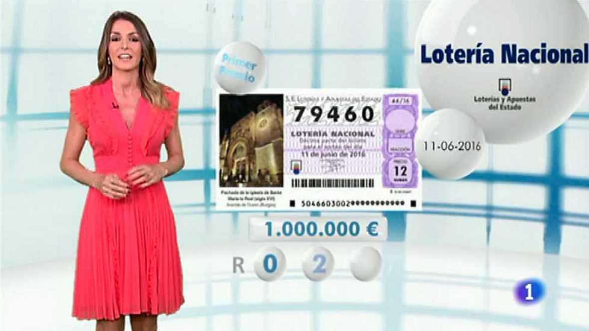 Lotería Nacional - 11/06/16 - ver ahora