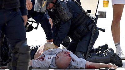 Enfrentamientos entre hinchas ingleses y rusos obligan a intervenir a la policía en Marsella