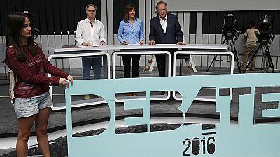 Los partidos dan el visto bueno al plató donde se celebrará el debate a cuatro