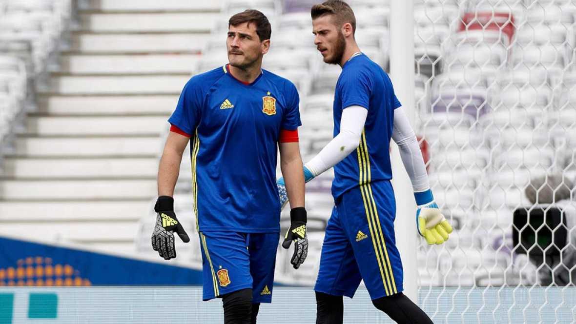 España, lista para su debut en la Eurocopa