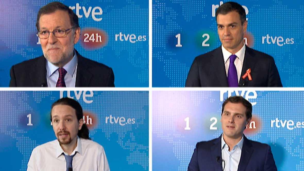 Así será el debate a cuatro de las elecciones del 26J