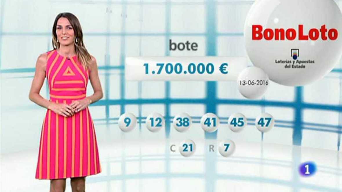 Bonoloto - 13/06/16 - ver ahora