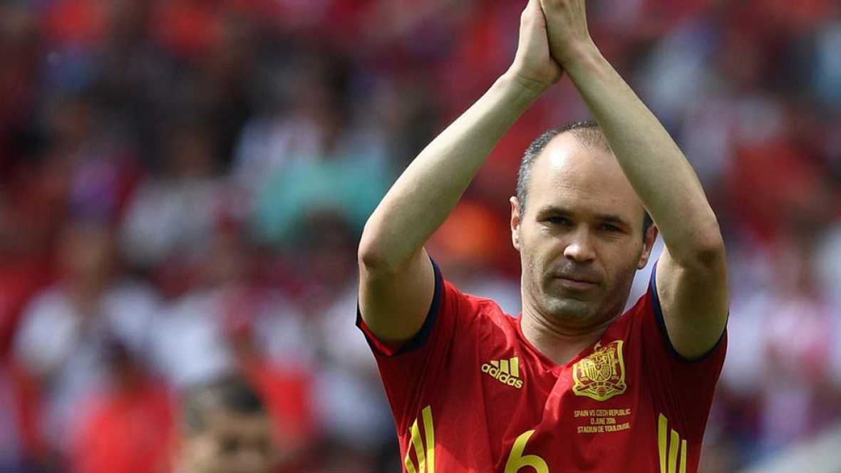 El debut con victoria sobre la República Checa en la Eurocopa ha motivado a España, que seguirá trabajando para terminar primera de grupo.