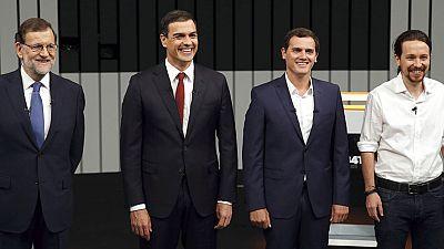 Rajoy repele las cr�ticas en un debate que no aclara c�mo evitar unas terceras elecciones