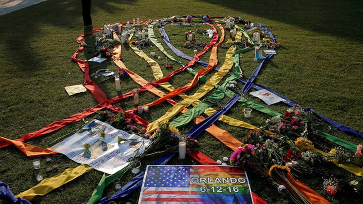 Actos en recuerdo de los 49 fallecidos tras la masacre en Orlando