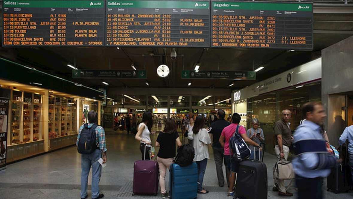 Renfe cancela 75 trenes de los programados al incumplirse los servicios mínimos, algo que desmienten los convocantes