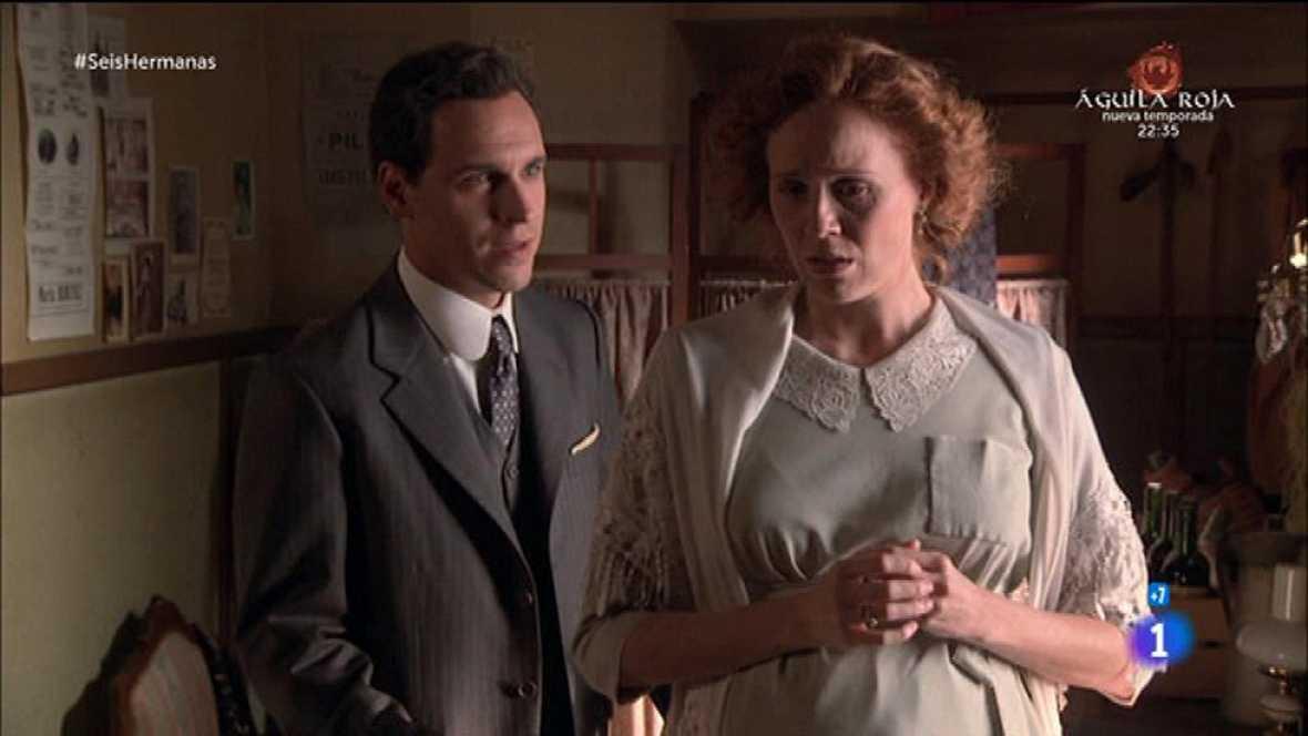 Seis Hermanas - Gabriel le propone a Francisca huir o matar a Luis