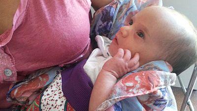 Primer beb� que nace en Fulleda �en 15 a�os!