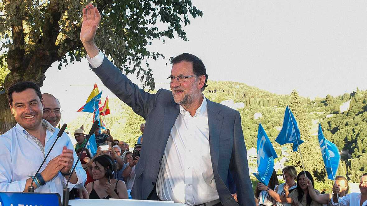 Rajoy pide el voto para no dar marcha atrás en la recuperación económica