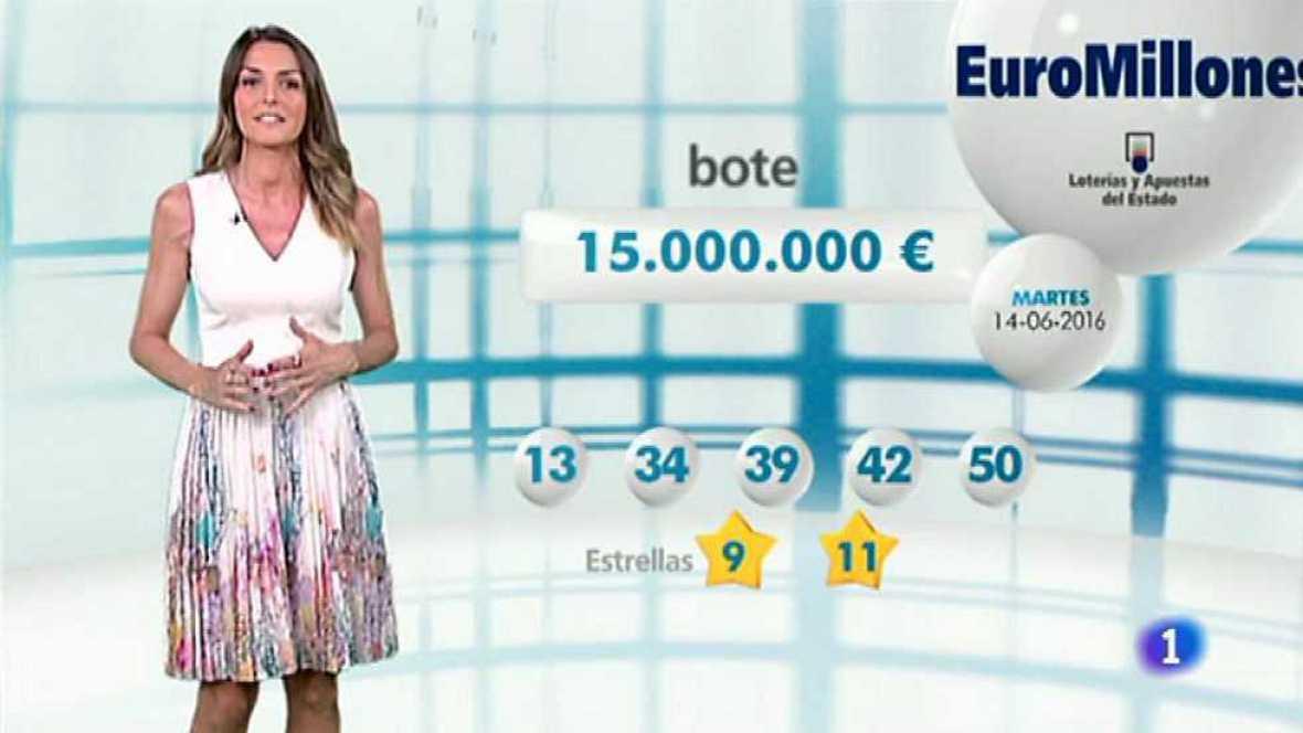 Bonoloto + EuroMillones - 14/06/16 - ver ahora