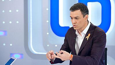 """S�nchez: """"Iglesias dice que el derecho de autodeterminaci�n no es una l�nea roja, pero no es cierto"""""""