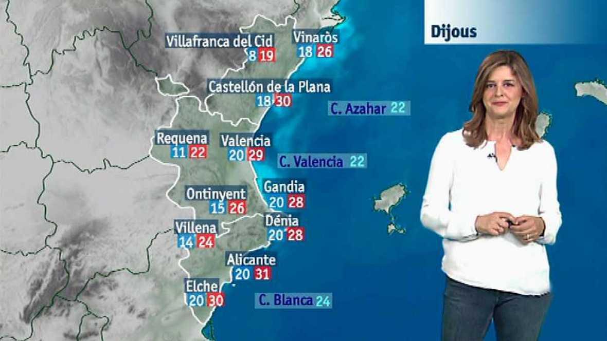 El tiempo en la Comunidad Valenciana - 15/06/16 - ver ahora