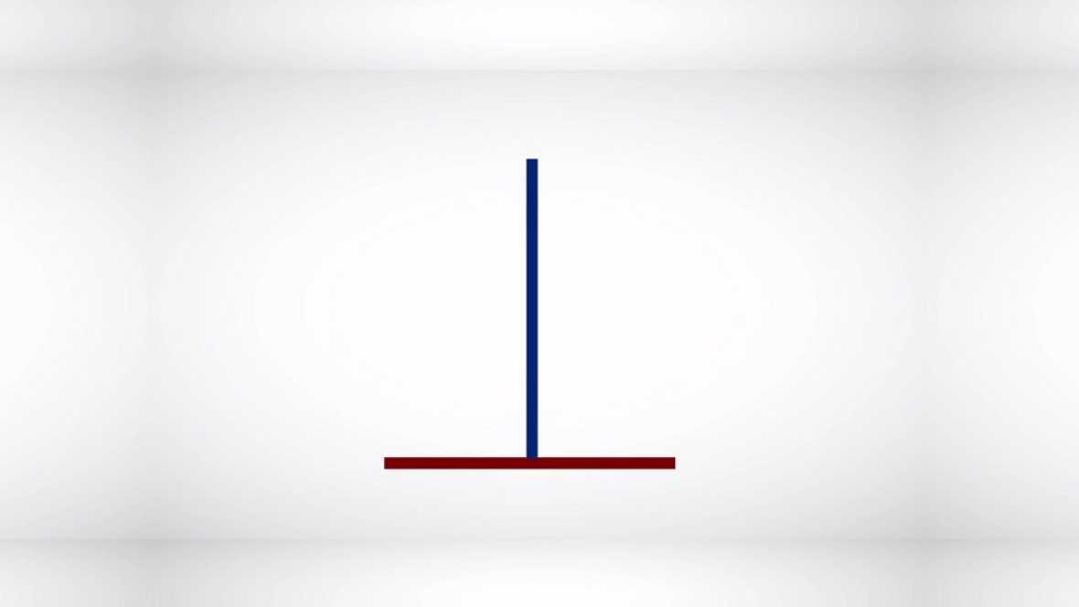 Desafía tu mente - ¿Qué línea es más larga: la azul o la roja?