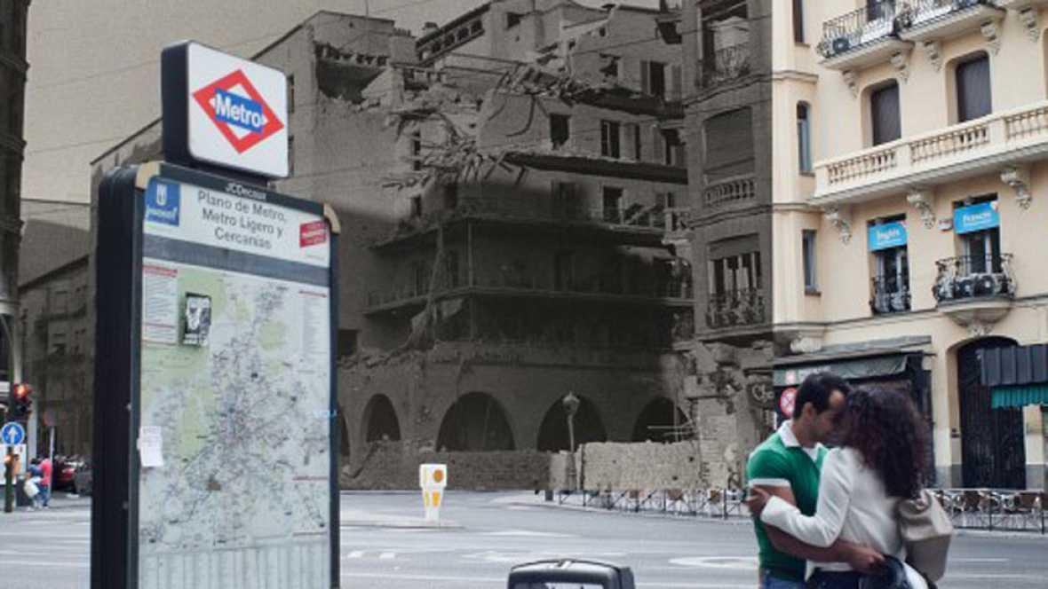 Javier Marquerie recuerda la historia de España en una exposición fotográfica