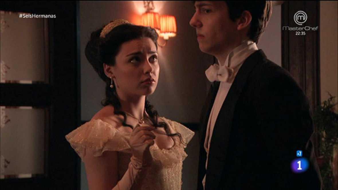 Seis Hermanas - Elisa trata de seducir a Carlos