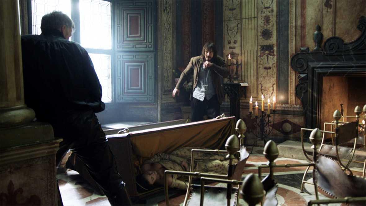 Águila Roja - Gonzalo y Hernán se enfrentan cuerpo a cuerpo